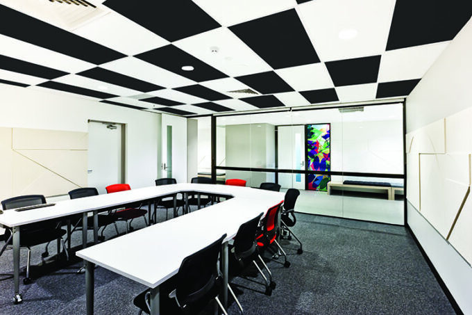SONEX WHITELINE Ceiling Tiles