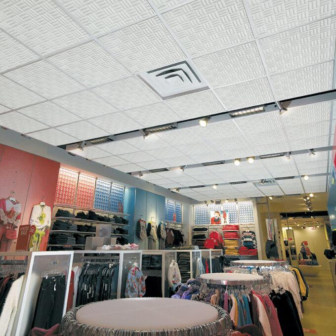 Retail Store Ceiling Tiles