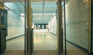 Soundproof panels for shooting range
