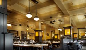 SONEX Panels Restaurant